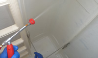 貯水槽の清掃
